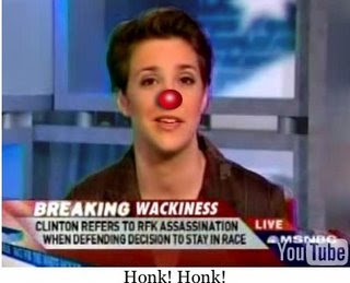 Clown Rachel Maddow