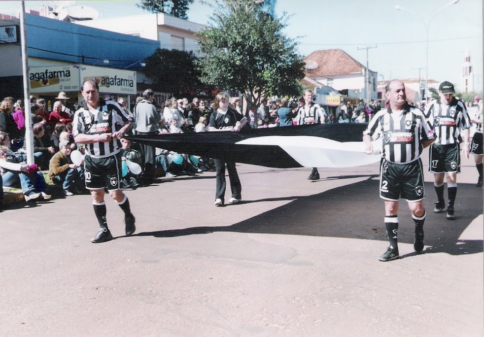 Veteranos do Botafogo - Desfile de 7 de Setembro