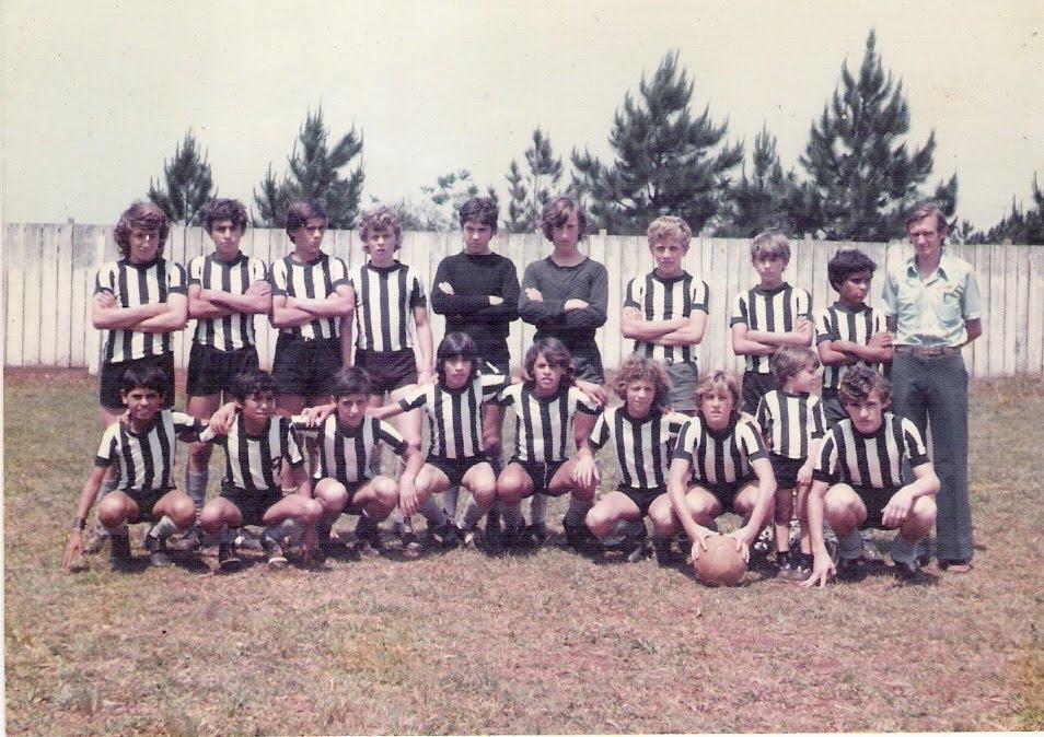 Campeões Mirins da Escola da Estrela - 1974