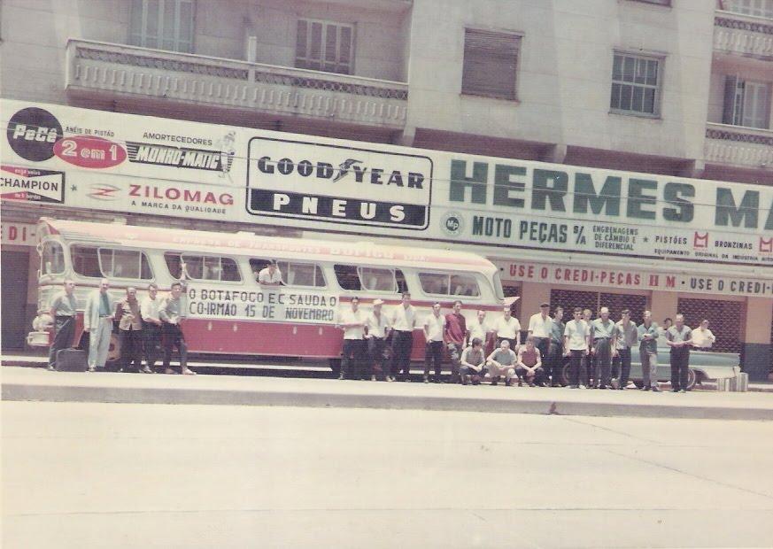 Delegação do Botafogo em Campo Bom - 1967