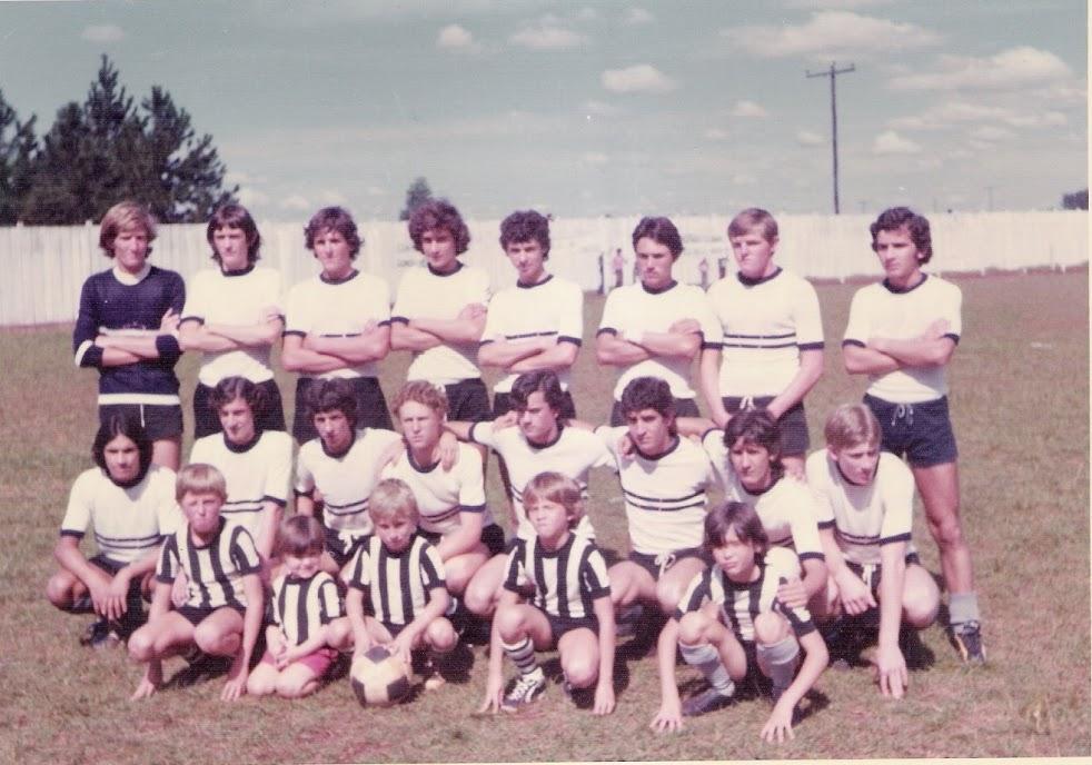 Escolinha do Botafogo - Jogo em Três de Maio - 1975