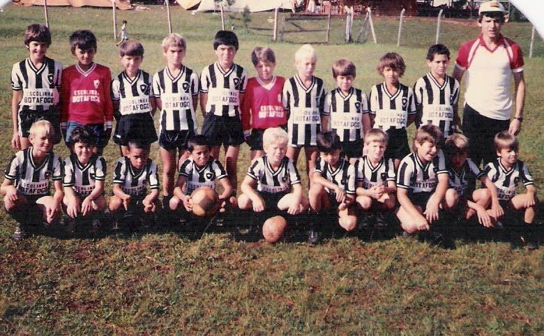 Escolinha - década de 1980