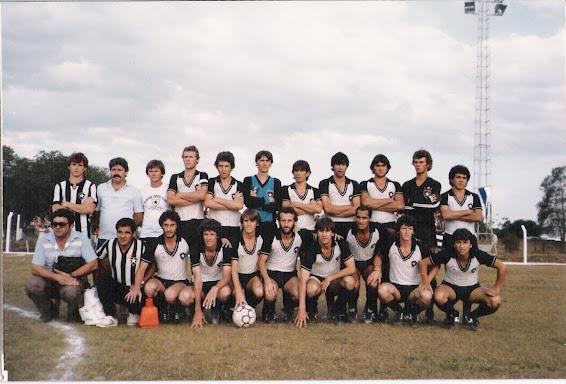 Tetra Campeão Estadual em 1985