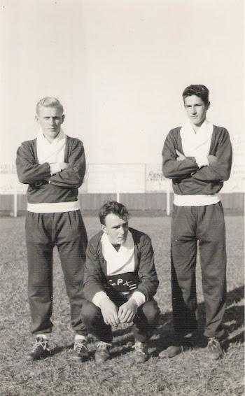 Trio de respeito - Lateral Branco, goleiro Jorge e o meia Flávio