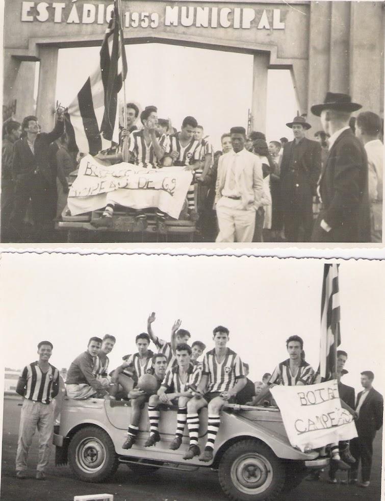 Botafogo - Campeão em 1962