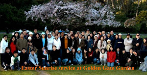 Join us Easter Sunrise gathering and worship service at beautiful Golden Gate Park of San Francisco
