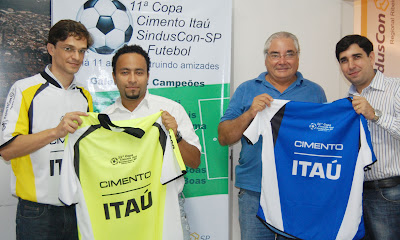 Copa Cimento Itaú / SindusCon-SP começa neste sábado em RP