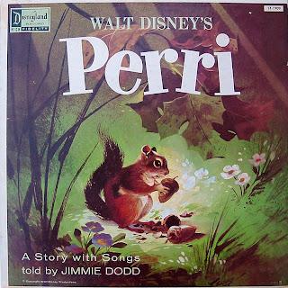 Walt Disney's Perri LP record