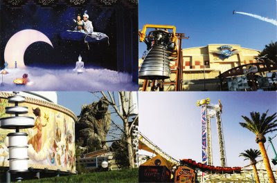 Disney's California Adventure postcards