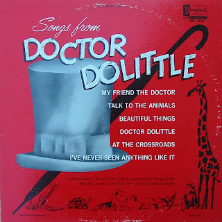 A Disneyland Record Songs from Doctor Dolittle back cover
