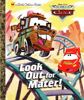Little Golden Book, Look Out For Mater!