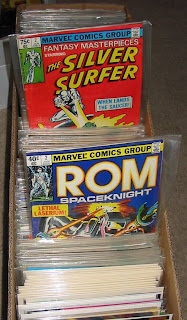 Comic Books Rom Spaceknight and Silver Surfer