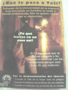 Propaganda a favor del aborto
