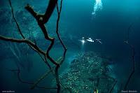 sungai bawah laut meksiko