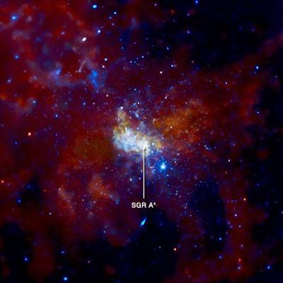 saggitarius agujero negro via lactea
