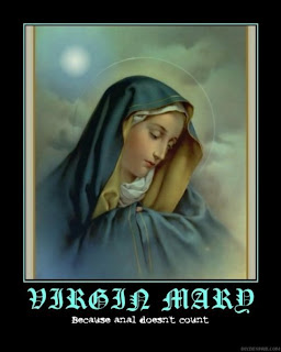 virgen maria por el culo no cuenta