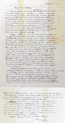 carta albert einstein