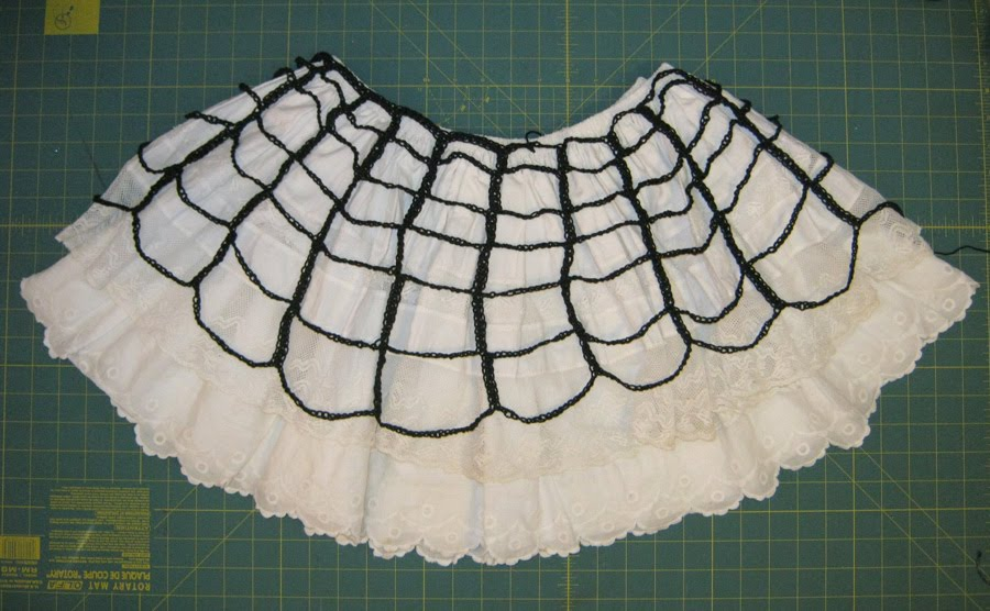 Sweater Surgery How To Crochet A Spider Web Skirt Pattern