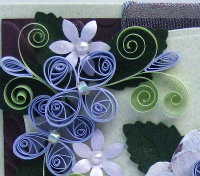 Custom note paper quilling