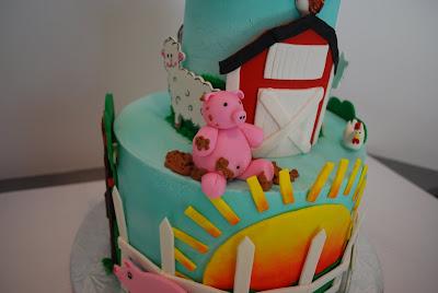 Cup a Dee Cakes Blog Piggy Farm Cake