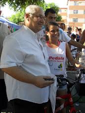 """""""Eu Ganhei uma Bike 18 marchas no PEDALA NOVA IGUAÇU"""""""