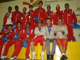ANTÕNIO DA SILVA, Campeão estudantil 2008