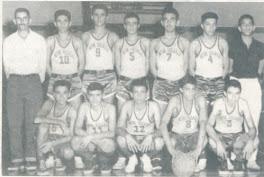 SELEÇÃO IGUAÇUANA DE BASQUETE/1957