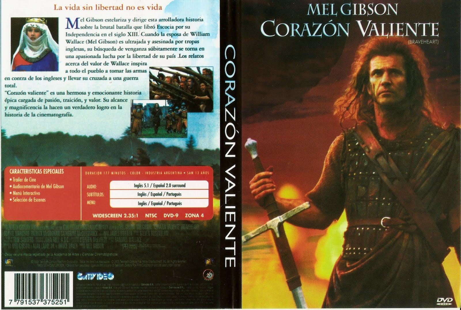 Peliculas disponibles en dvd corazon valiente Corazon valiente pelicula