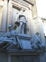 Statuia Amiralului Gaspard de Coligny