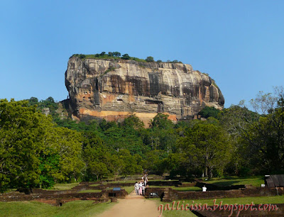 The 'World Heritage' Sigiriya Rock Fortress