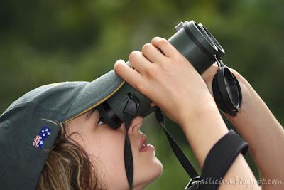 Celyn with a Swarovski EL 8.5 x 42 binoculars