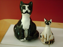 My Ceramic Kitties