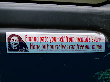 BOB MARLEY BUMPER STICKER