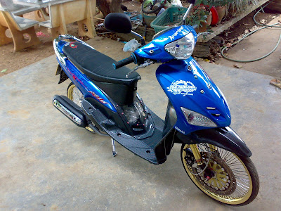Yamaha Mio Big Wheel