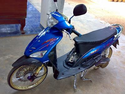beast is inside  Yamaha Mio Big wheel