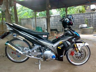 Gambar Modifikasi Motor Yamaha Jupiter Mx 135