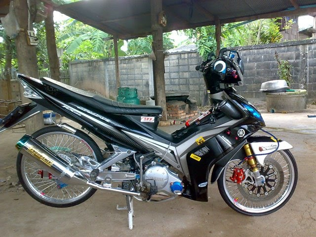 Motorcycle ros yamaha spark 135 thai style for Yamaha motorcycles thailand prices