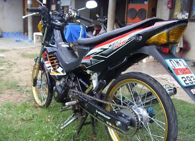 Honda Sonic 125 Street Racing Motorcycle Case