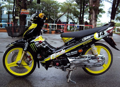 THE BIKERS  Honda Wave Black Results of the project