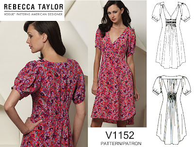 Site Blogspot  Taylor Dresses on Made Vogue 1152  A Rebecca Taylor Dress Pattern  As A Top Instead