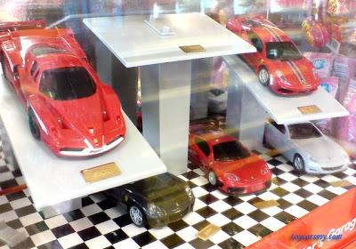 Shell Pilipinas Ferrari toy cars