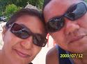 Minha irmã e meu cunhado Miranda