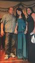 Mário, Camila e eu no dia da Formatura do Ensino Médio