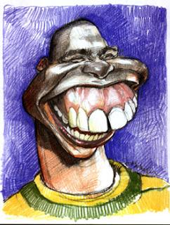 caricaturas de jogadores brasileiros