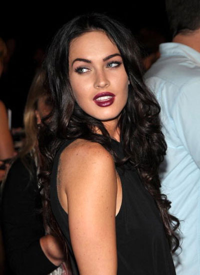 megan fox makeup less. megan fox eye makeup. megan