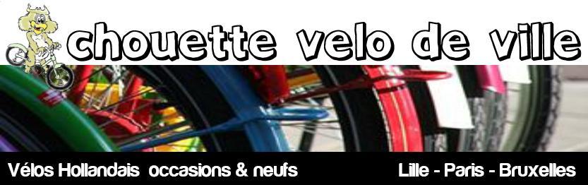 Vente de vélos hollandais d'occasion à Lille Paris Bruxelles et Londres