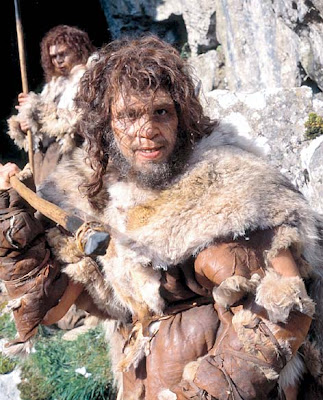geico caveman makeup