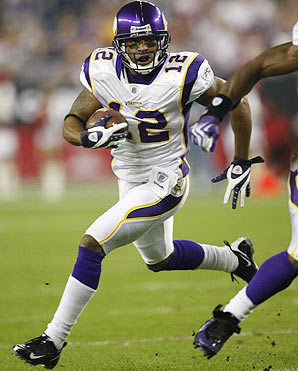 HOME OF MINNESOTA VIKINGS FOOTBALL: PERCY HARVIN Leaves Practice ...