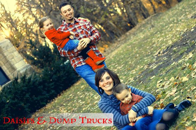 daisies 'n dump trucks