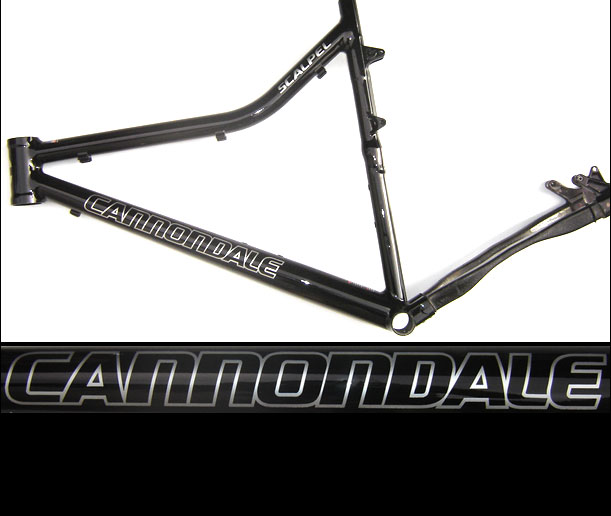 cannondale scalpel black